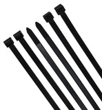 Super Strong Cable Ties - Heavy Duty - Black, Self Locking Nylon Zip Ties (50, 20 inch)