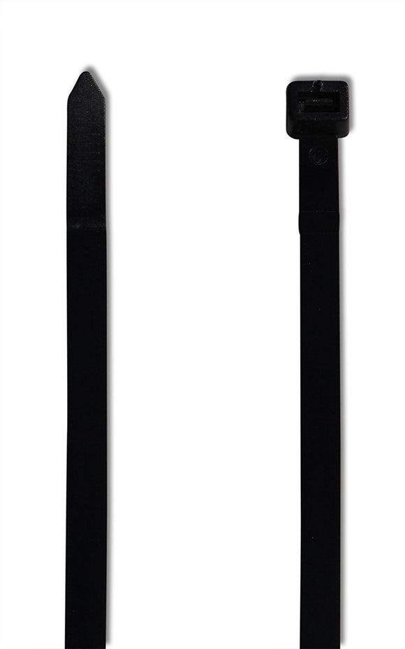 Super Strong Cable Ties - Heavy Duty - Black, Self Locking Nylon Zip Ties (10,000, 12 inch)