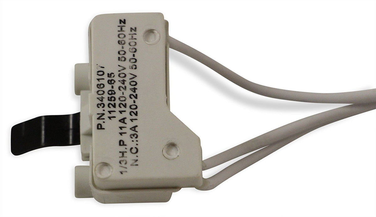 3406107 Door Switch for Whirlpool Dryer by DR Quality Parts