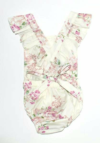 Willow Flutter Romper