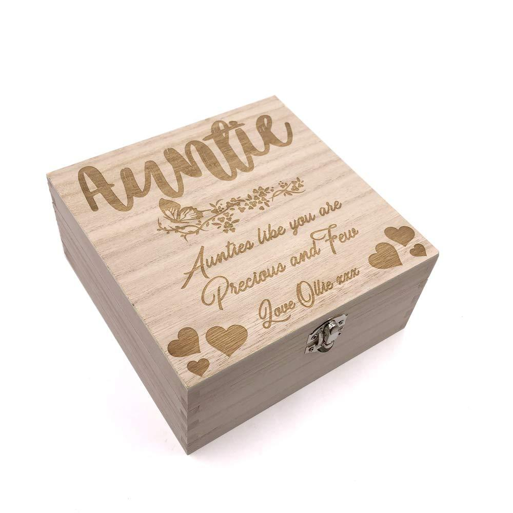 Auntie Gift Personalised Keepsake Box or Photo Box Gift - ukgiftstoreonline