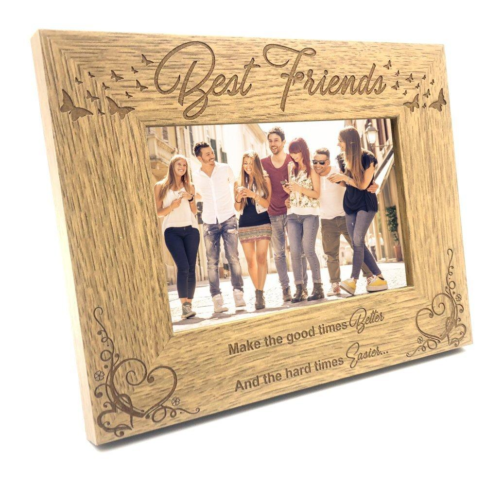Best Friends Wooden Photo Frame Gift - ukgiftstoreonline