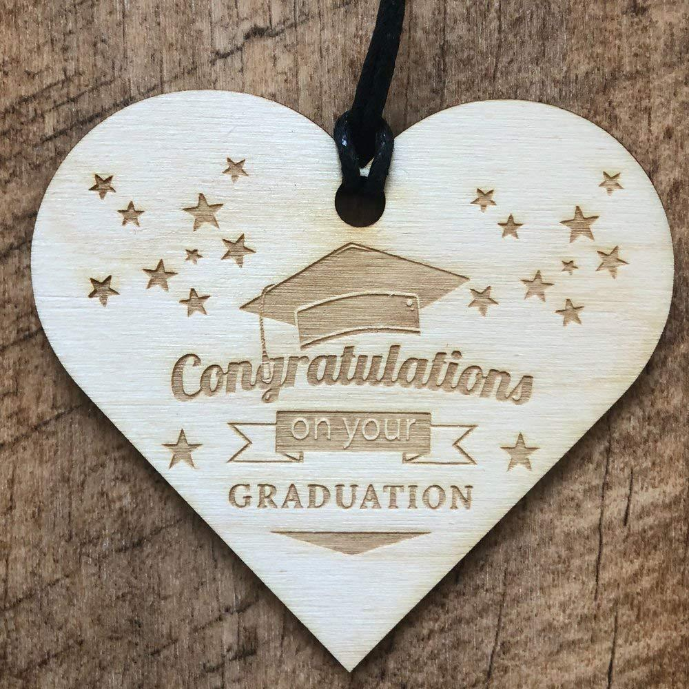 Congratulations On Your Graduation Wooden Plaque Gift - ukgiftstoreonline