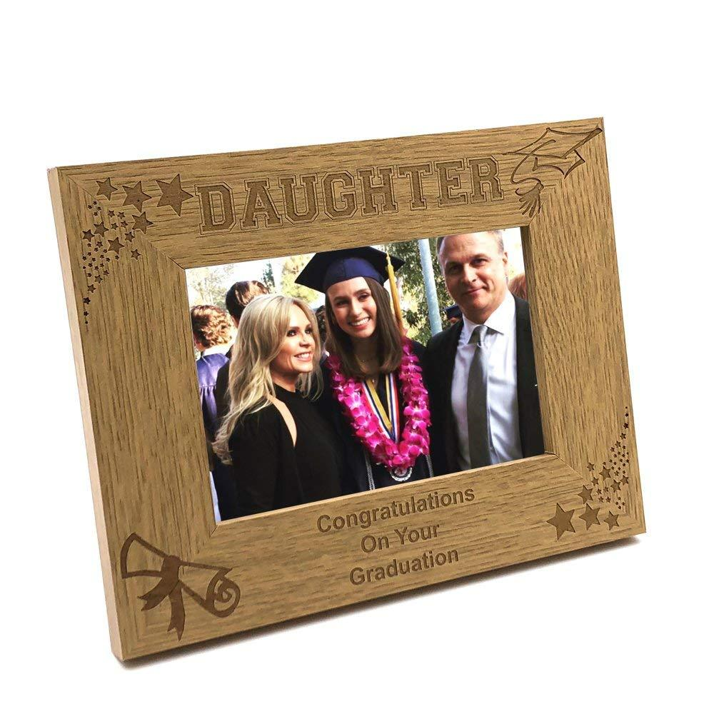 Daughter Graduation Stars and Hat Photo Frame Gift - ukgiftstoreonline