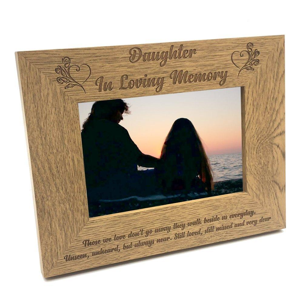 Daughter Memorial Remembrance Photo Frame - ukgiftstoreonline