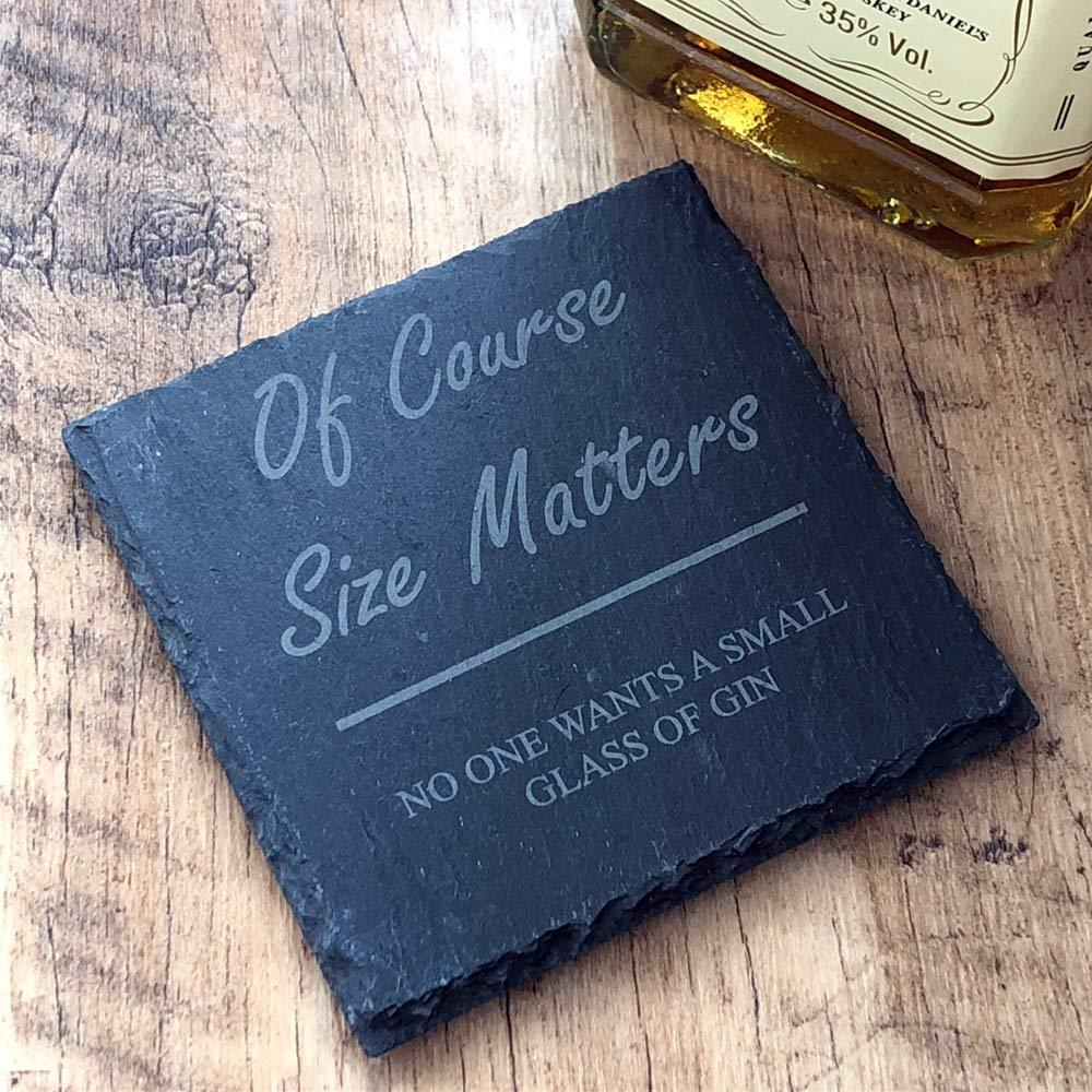 Funny Gin Gift for Her - Slate Gin Coaster - ukgiftstoreonline