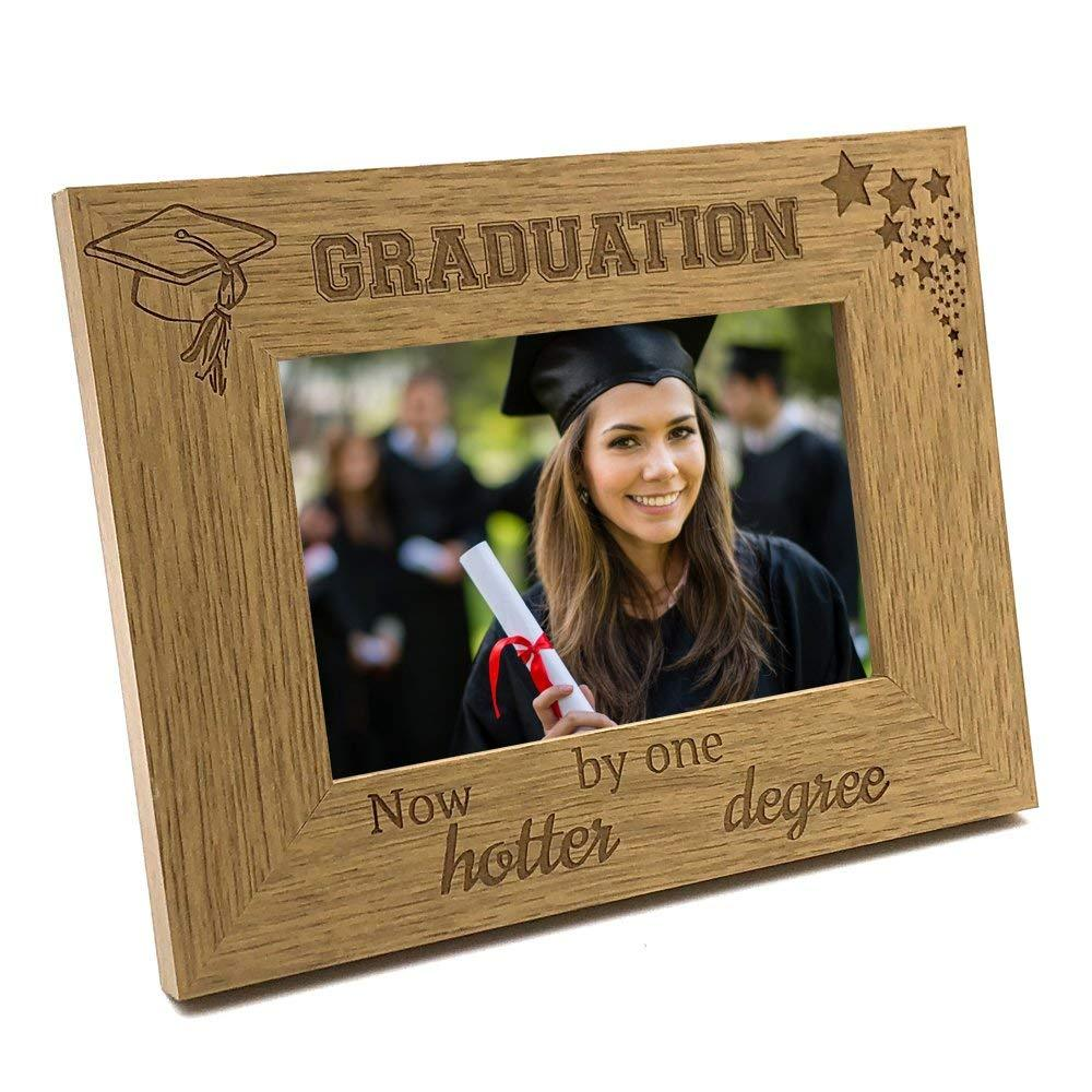 Graduation Gift - Now Hotter By One Degree Photo Frame Gift - ukgiftstoreonline