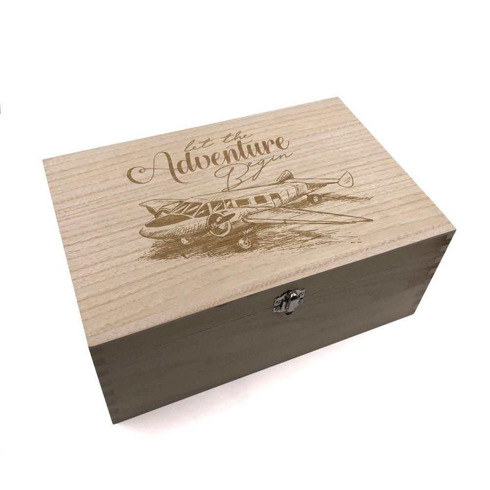 Large Travel Adventure Keepsake Box - ukgiftstoreonline