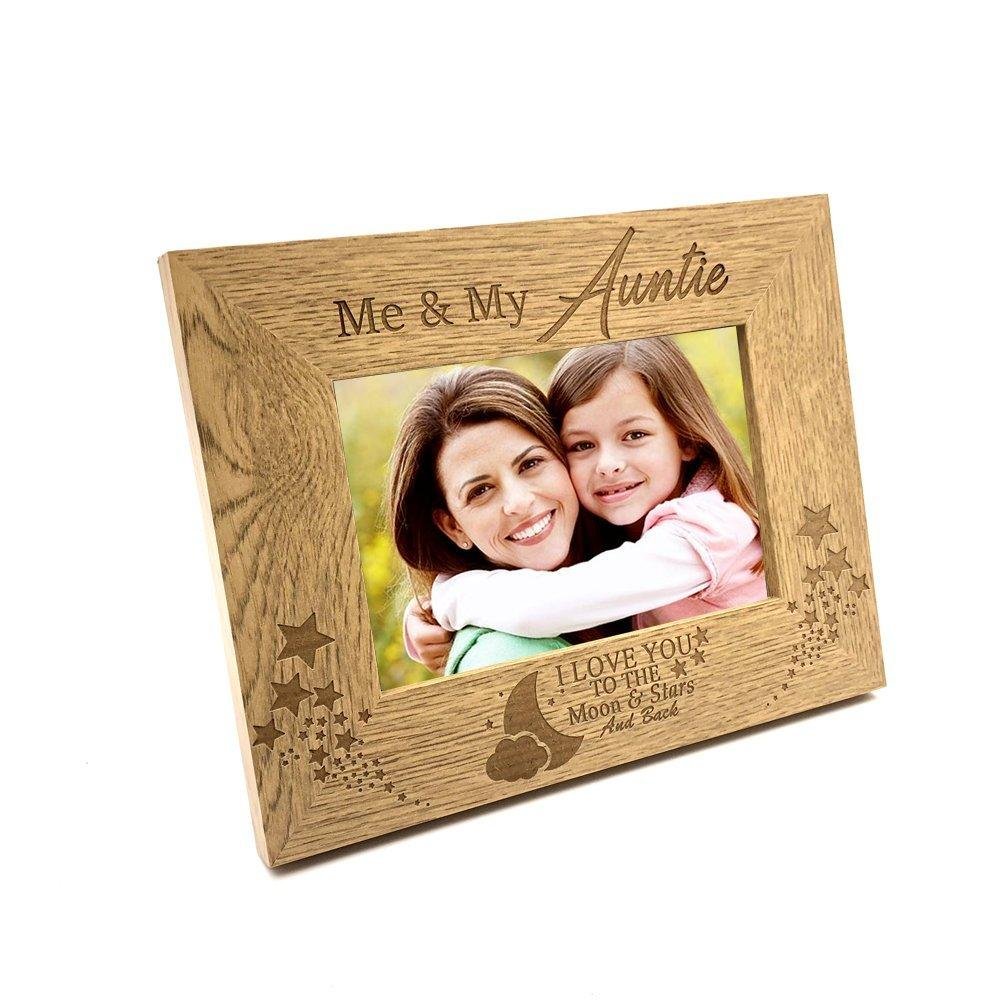 Me and My Auntie Love You To The Moon Photo Frame Gift - ukgiftstoreonline