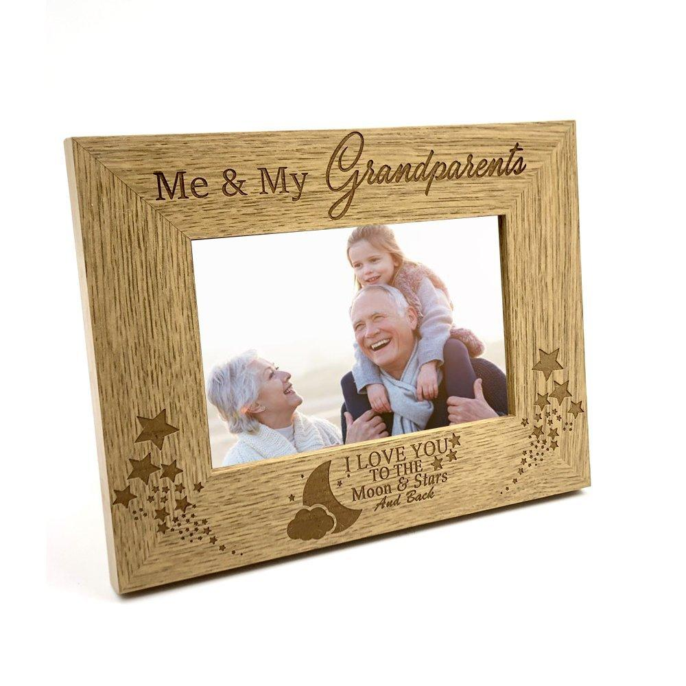 Me and My Grandparents Love You To The Moon Photo Frame Gift - ukgiftstoreonline