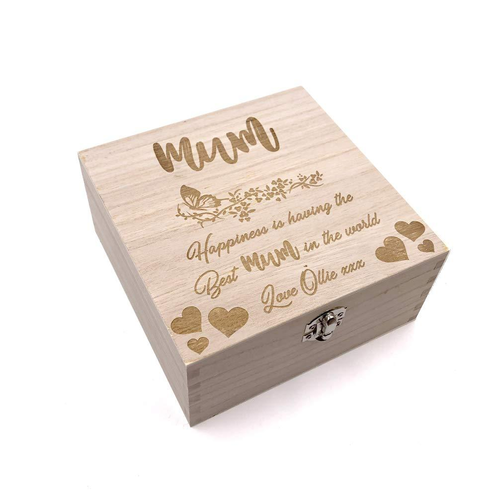 Mum Gift Personalised Keepsake Box or Photo Box Gift - ukgiftstoreonline