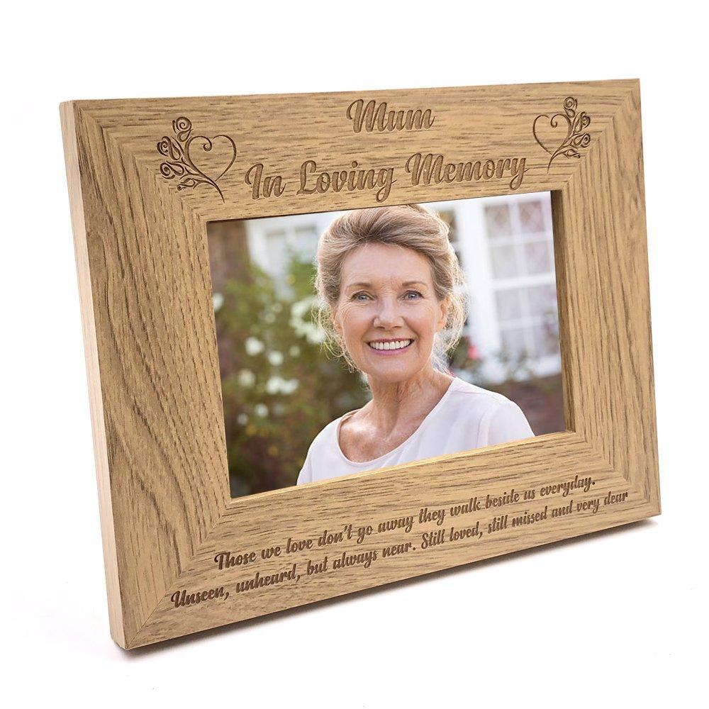 Mum Memorial Remembrance Photo Frame - ukgiftstoreonline
