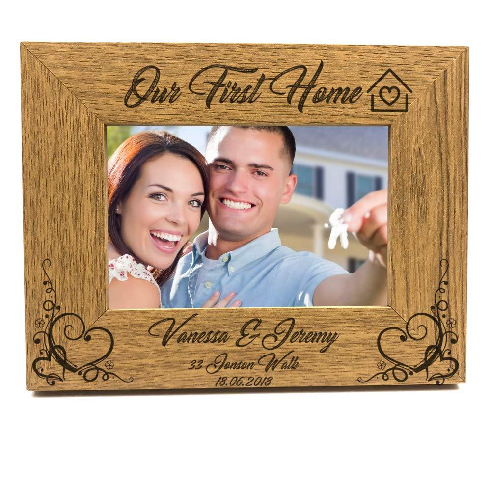 Our First Home Personalised Photo Frame Gift - ukgiftstoreonline