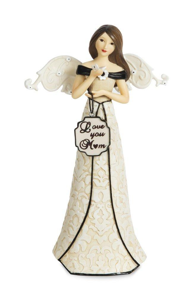 Pavilion Gift Company 88133 Love You Mom Angel Figurine, 6-Inch - ukgiftstoreonline