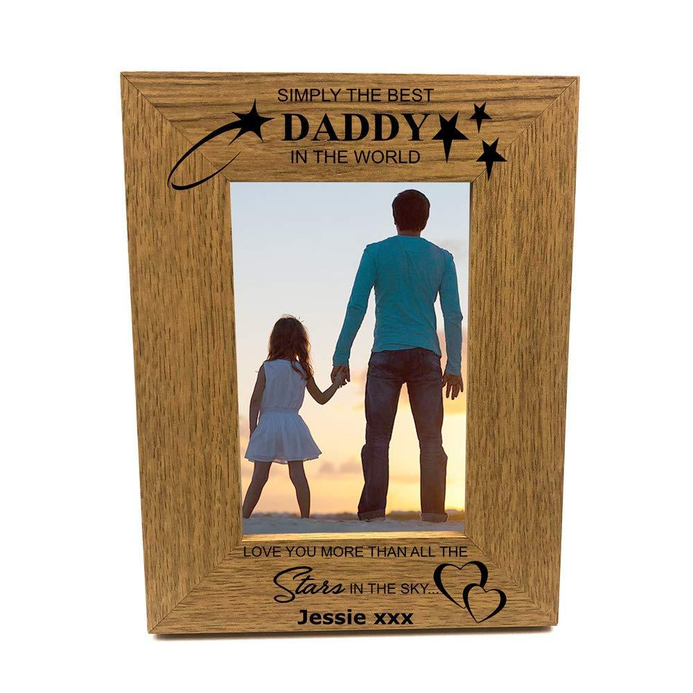 Personalised Family Relation Photo Frames Gift Best Daddy Mummy Sister Brother Nana Grandad Brother Uncle Auntie Nanny Grandma Niece Nephew Cousin - ukgiftstoreonline