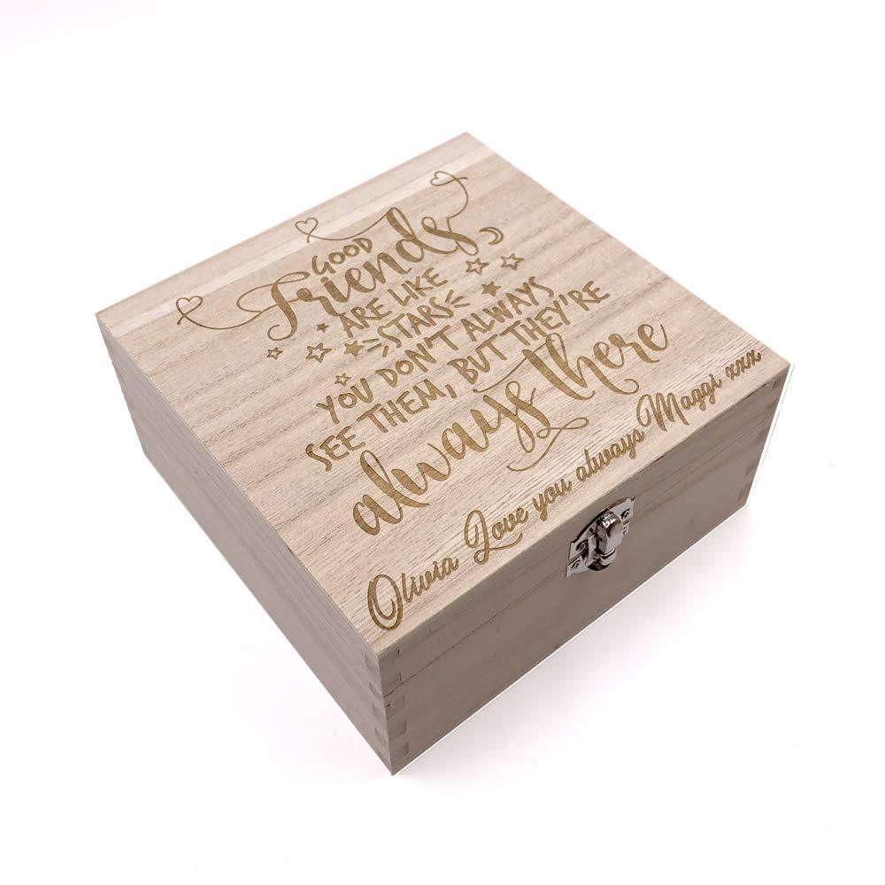 Personalised Friendship Keepsake Box or Photo Box Gift - ukgiftstoreonline