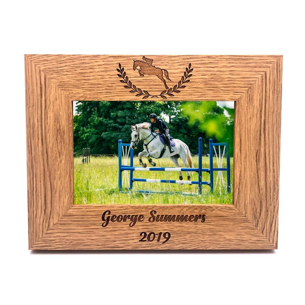 Personalised Horse Riding or Competition Photo Frame Gift - ukgiftstoreonline