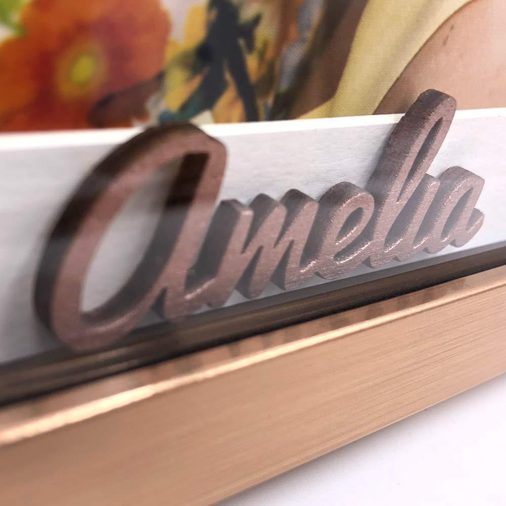 Personalised Luxury 18th Birthday Photo Frame Gift Copper Finish - ukgiftstoreonline