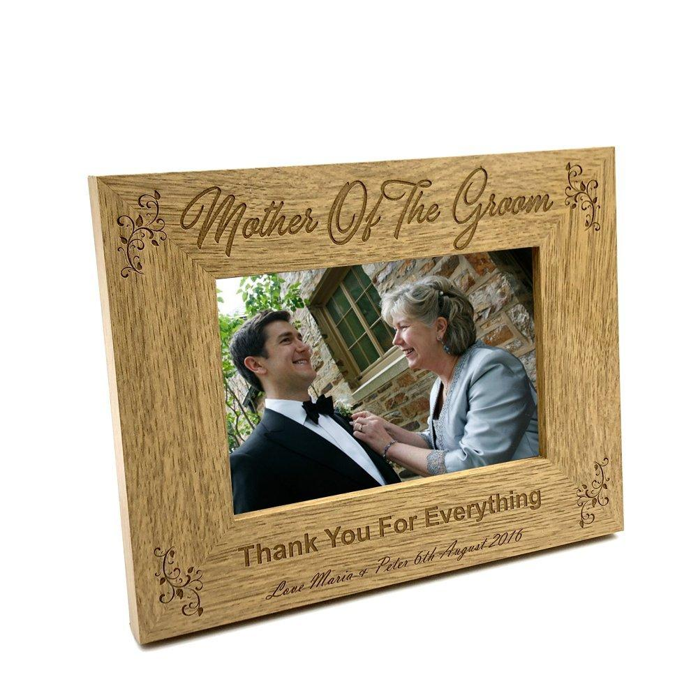 Personalised Mother Of The Groom Photo Frame Wedding Gift - ukgiftstoreonline