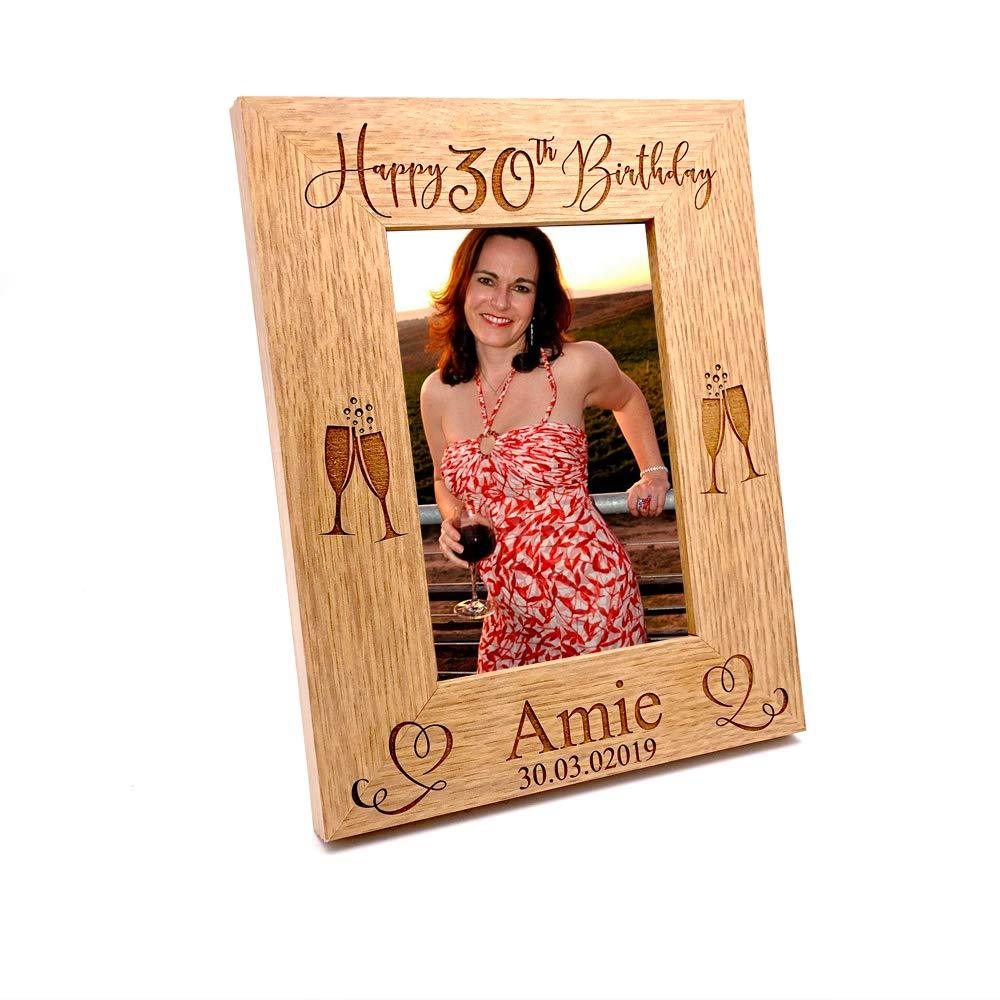 Personalised Portrait Birthday Photo Frame Gift 13th, 16th, 18th, 21st, 30th, 40th, 50th, 60th, 70th, 80th, 90th, 100 - ukgiftstoreonline