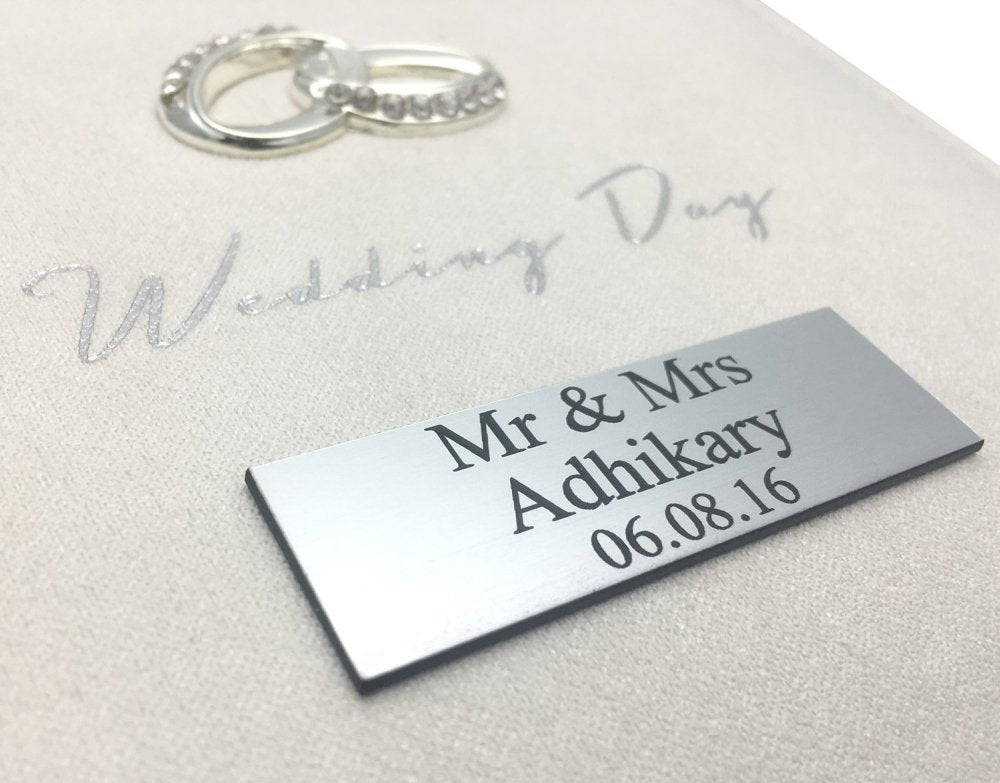 Personalised Wedding Day Photo Album Keepsake Gift - ukgiftstoreonline