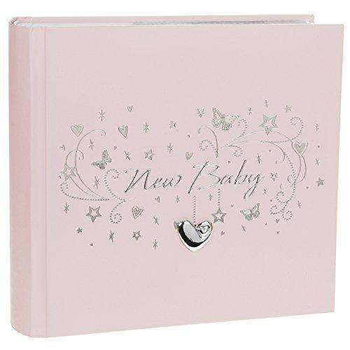 Shudehill Star Cluster Baby Girl Large Photo Album - Store Those Treasured Photographs (72611) - ukgiftstoreonline