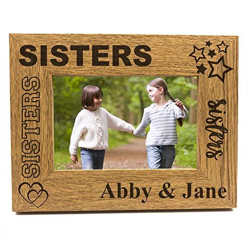 Sisters Sentiment Personalised Photo Frame Gift - ukgiftstoreonline