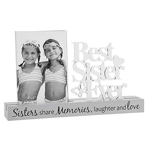 Sisters Share Memories, Laughter and Love Photo Frame New Boxed - ukgiftstoreonline