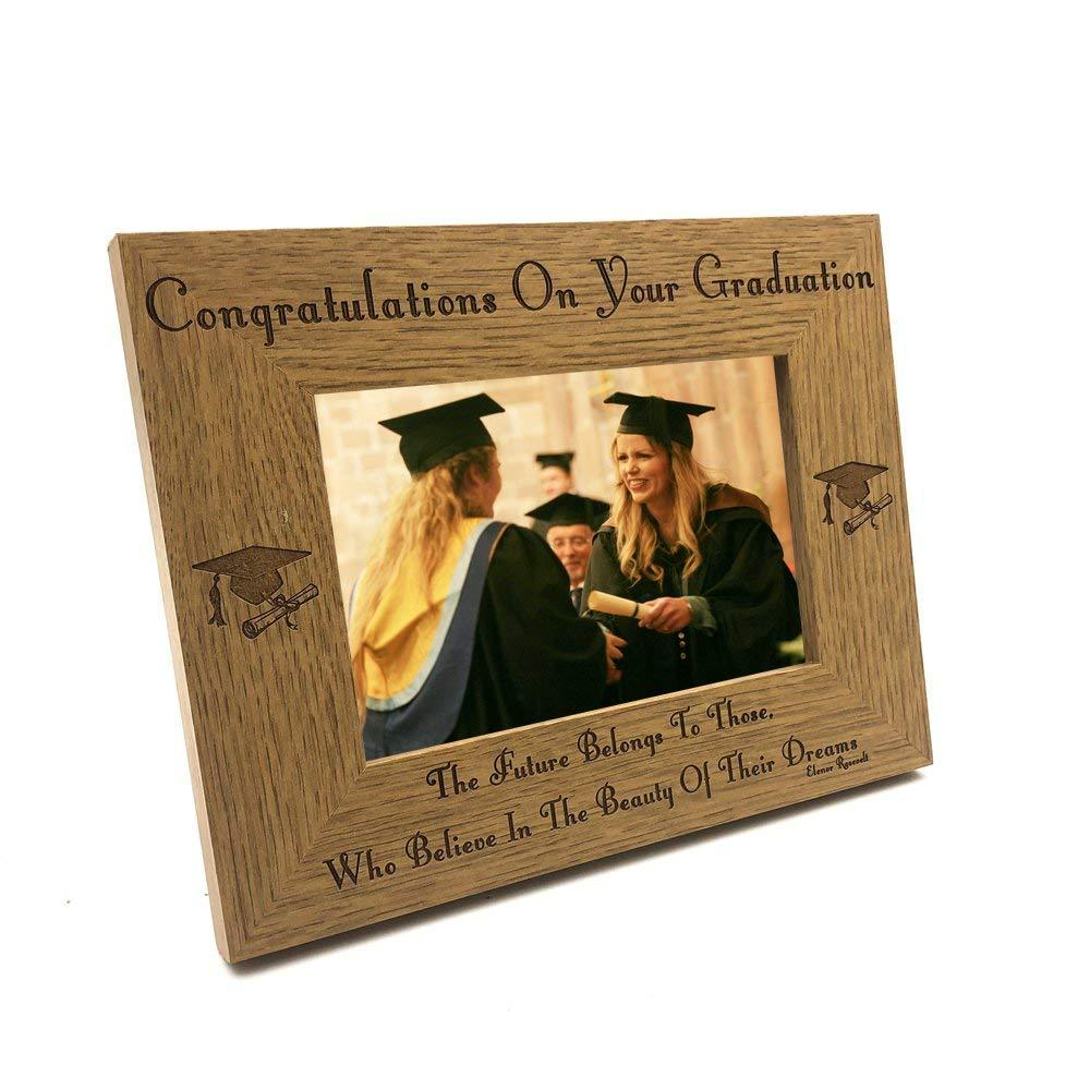 The future of dreams graduation Wooden Photo Frame - ukgiftstoreonline