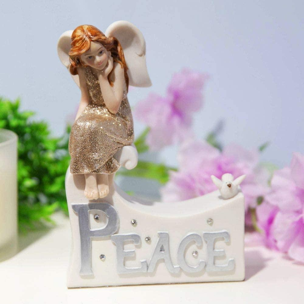 Thoughts of you Collection Fairy Figurine Peace Fairies Ornament - ukgiftstoreonline