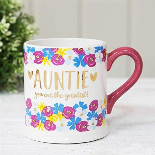 ukgiftstoreonline Auntie You Are The Greatest Mug Gift - ukgiftstoreonline