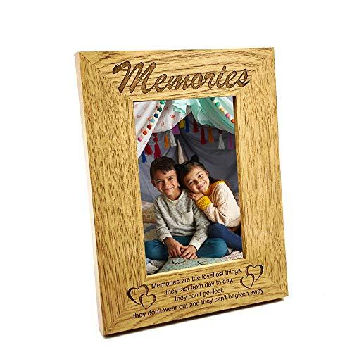 ukgiftstoreonline Memories Are The Loveliest Things Wooden Photo Frame Gift - ukgiftstoreonline