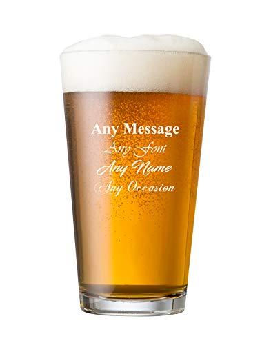 ukgiftstoreonline Personalised Engraved Perfect Beer Pint Wedding Birthday Best Man Usher - ukgiftstoreonline