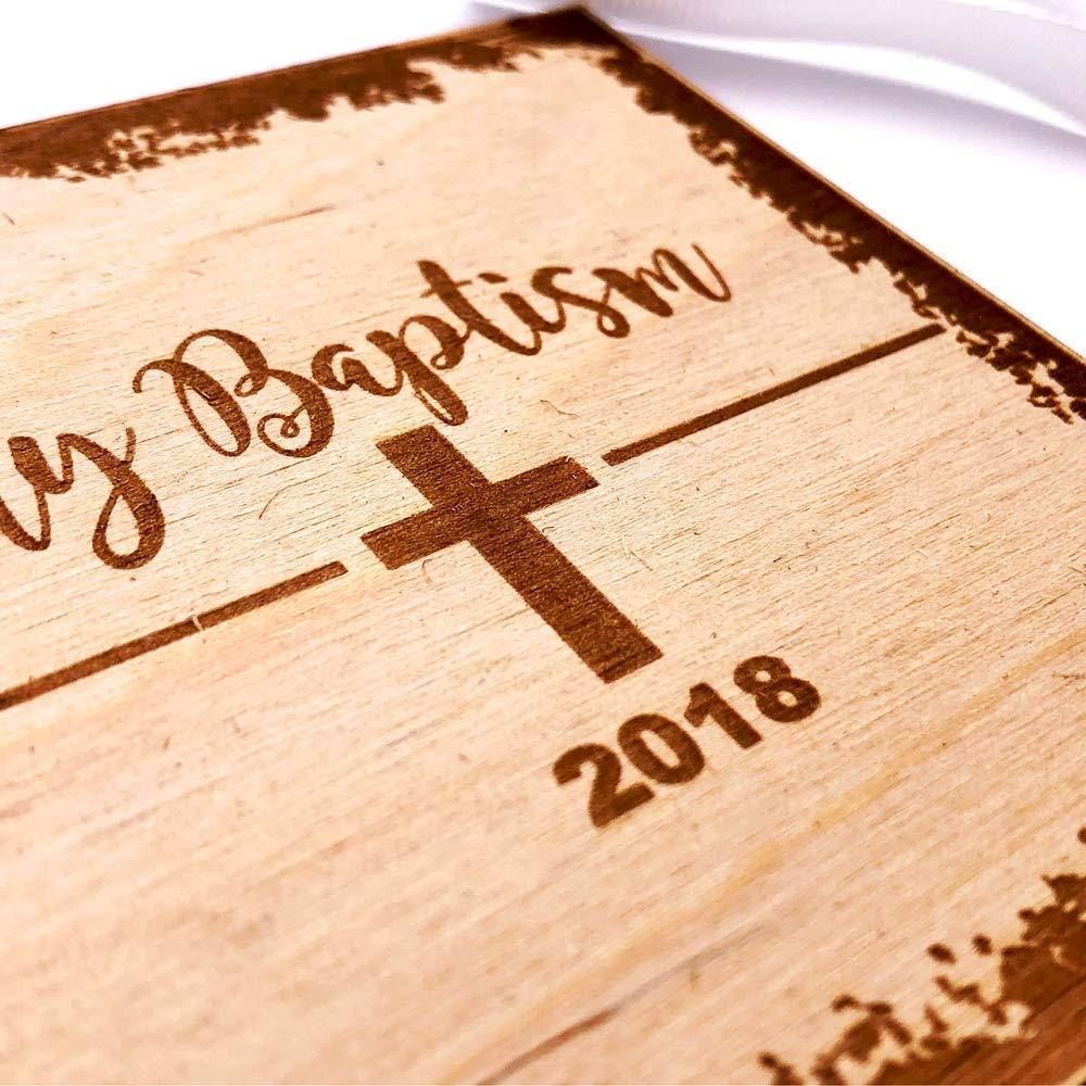White Baptism Scrapbook Photo Album or Guest Book - ukgiftstoreonline