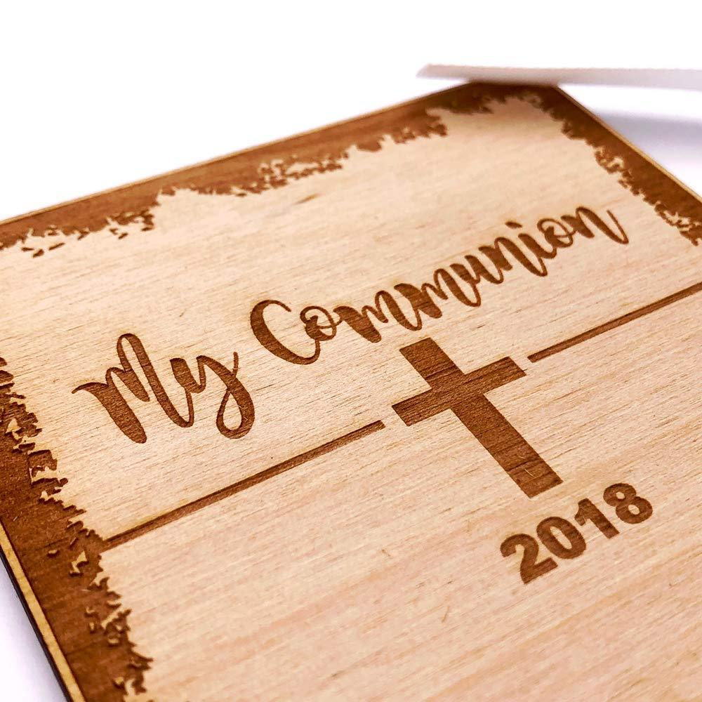 White Communion Scrapbook Photo Album or Guest Book - ukgiftstoreonline