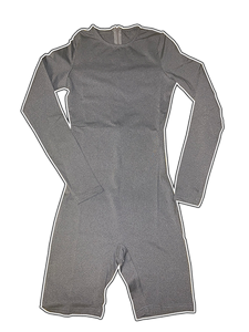 Long Sleeve Fitted Romper