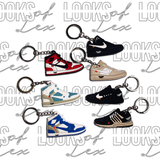 OFF-WHITE SHOE KEYCHAIN
