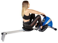 Body Xtreme Fitness Heavy-Duty Rowing Machine Body Sculpture 1500-S (Blue)