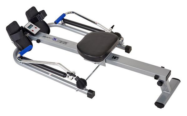 Circular Motion Rowing Machine (Silver/Blue)