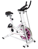 Body Xtreme Fitness Exercise Bike, Pulse Sensors, Resistance Bands