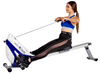 Tri-Base Heavy Duty Rowing Machine (Electric Blue)