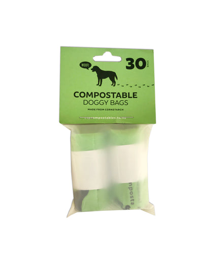 Compostable Doggie Bags - 30 bags