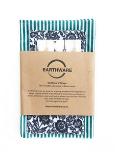 Earthware Bee's Wax Wraps - Set of 3