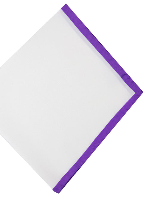 DÉCLIC Camai Hanky - White/Purple