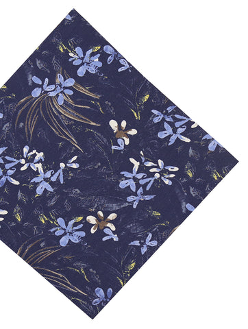 DÉCLIC Cadrer Pocket Square - Blue