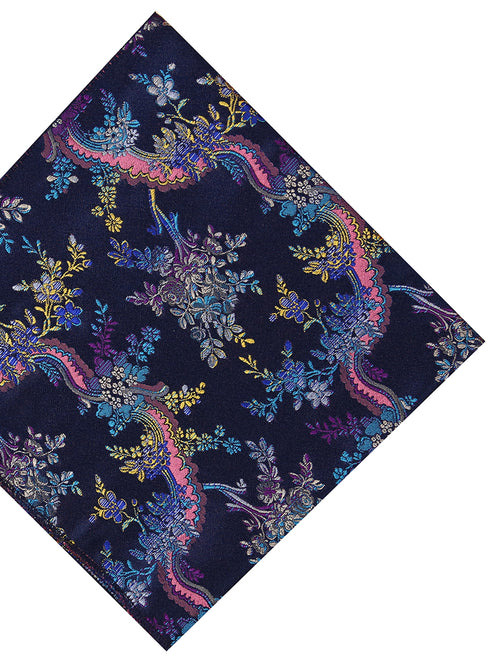 DÉCLIC Botte Floral Hanky - Blue/Navy