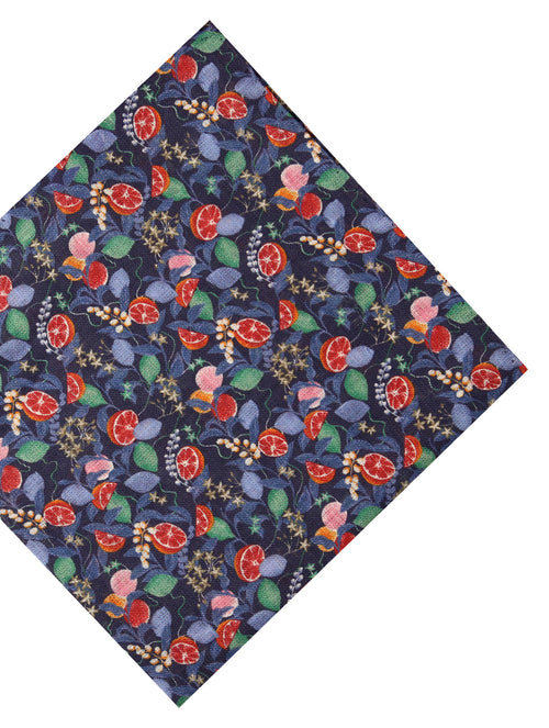 DÉCLIC Tarocco Floral Hanky - Navy/Assorted