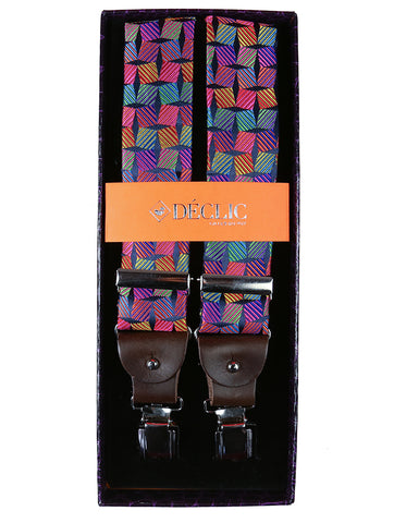 AT Fine Spot 2.5cm Clip Braces - Black