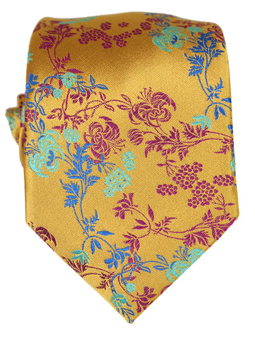 DÉCLIC Rohkea Paisley Tie - Orange
