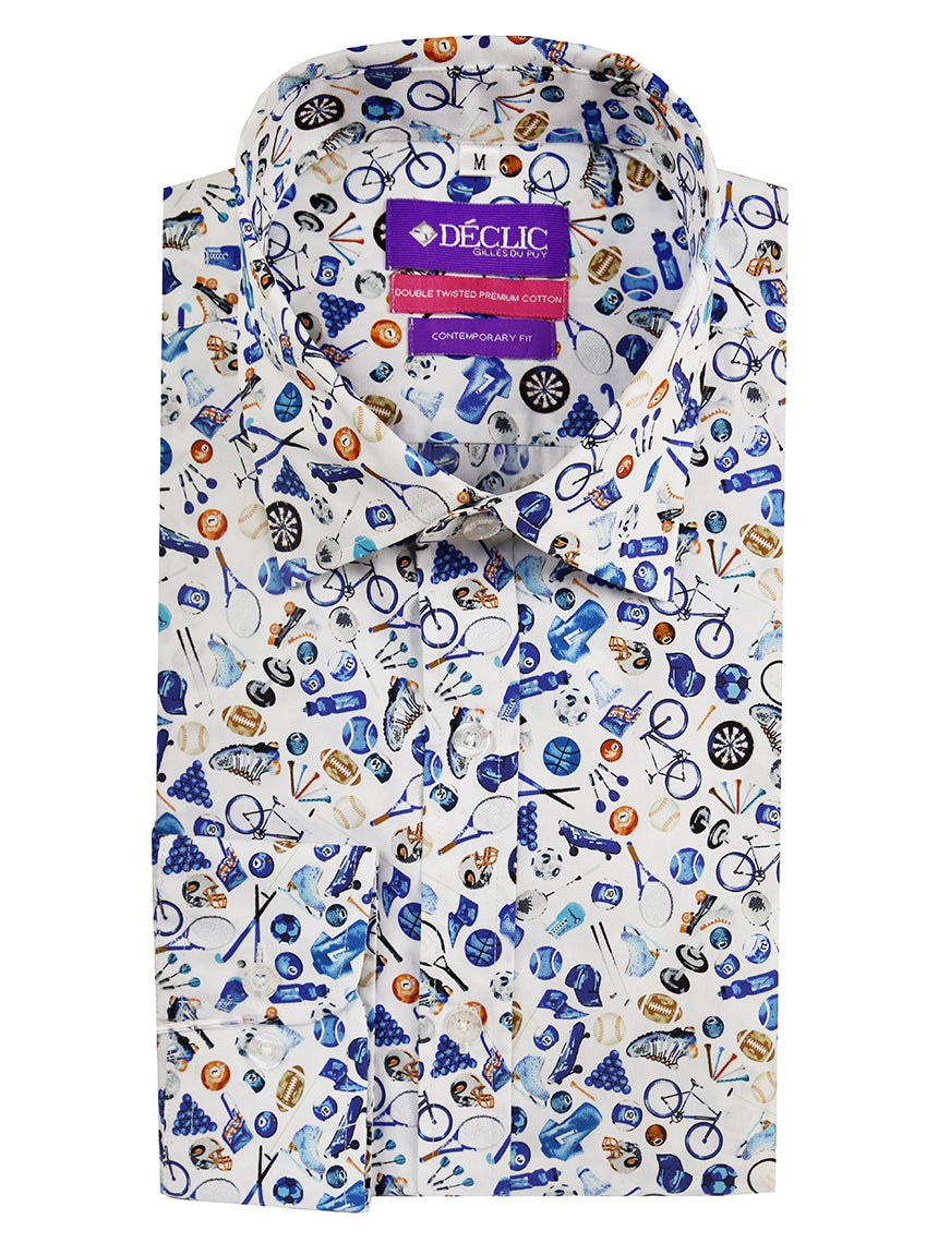 DÉCLIC Sports Print Shirt - Assorted